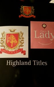 highland titles